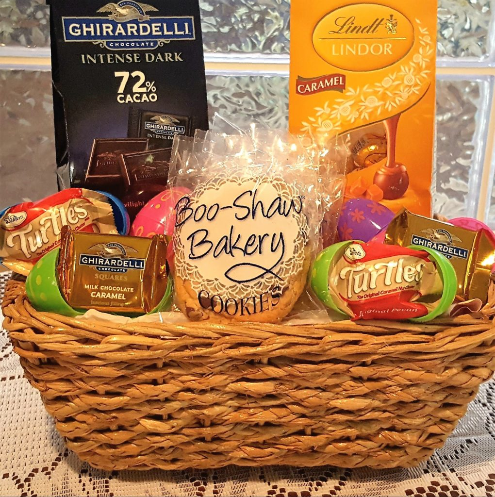Easter baskets personalized gourmet gifts easter baskets for adults image negle Images
