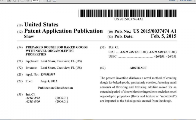 Patented published